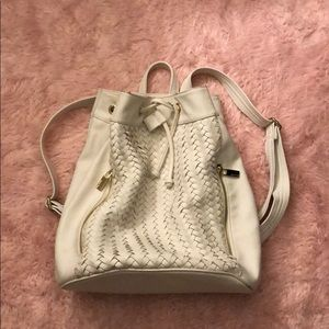 Deux Lux white backpack